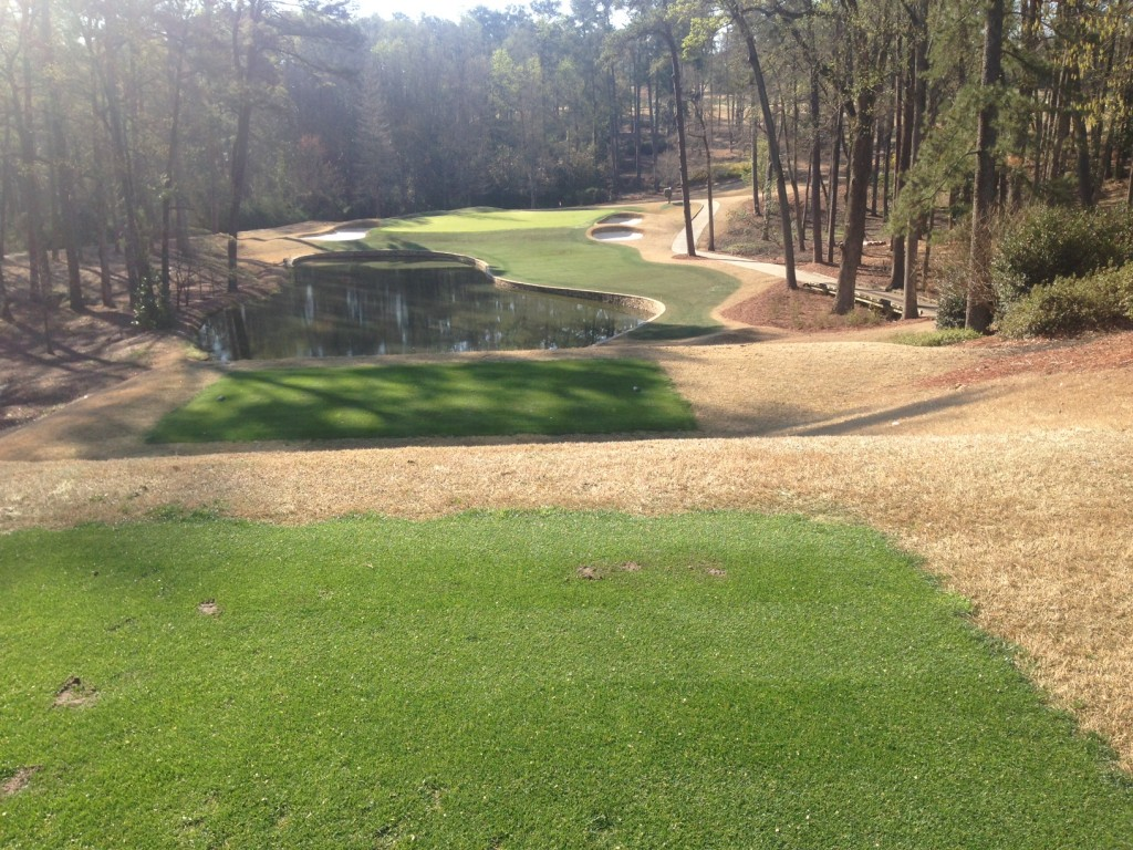 Augusta Country Club applies Endurant FW at a rate of 7 gallons per acre