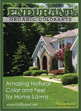 Organic colorants to be offered in new online shopping store launching August 2014 by Geoponics for home lawn and garden care.