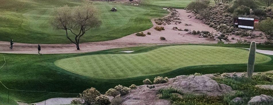 Endurant PR organic turf colorant gets Cochise course at Dessert Mountain ready for millions of viewers and world class players at Schwab Cup.