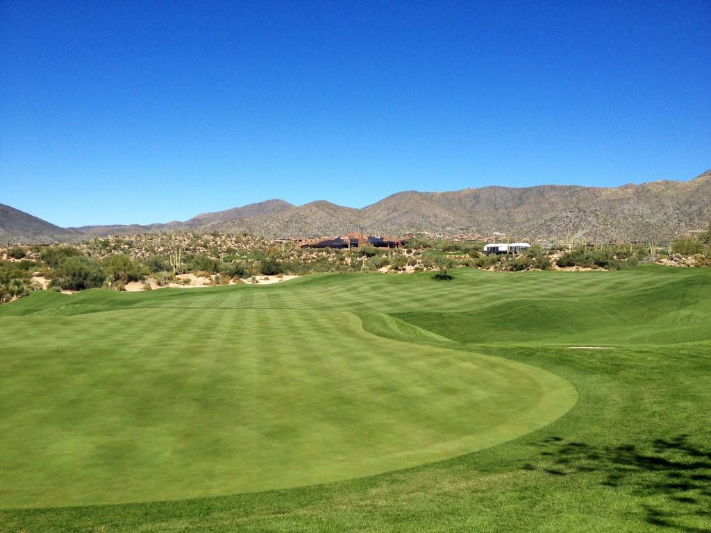 Champions Tour at Desert Mountain uses Endurant organic turf colorant