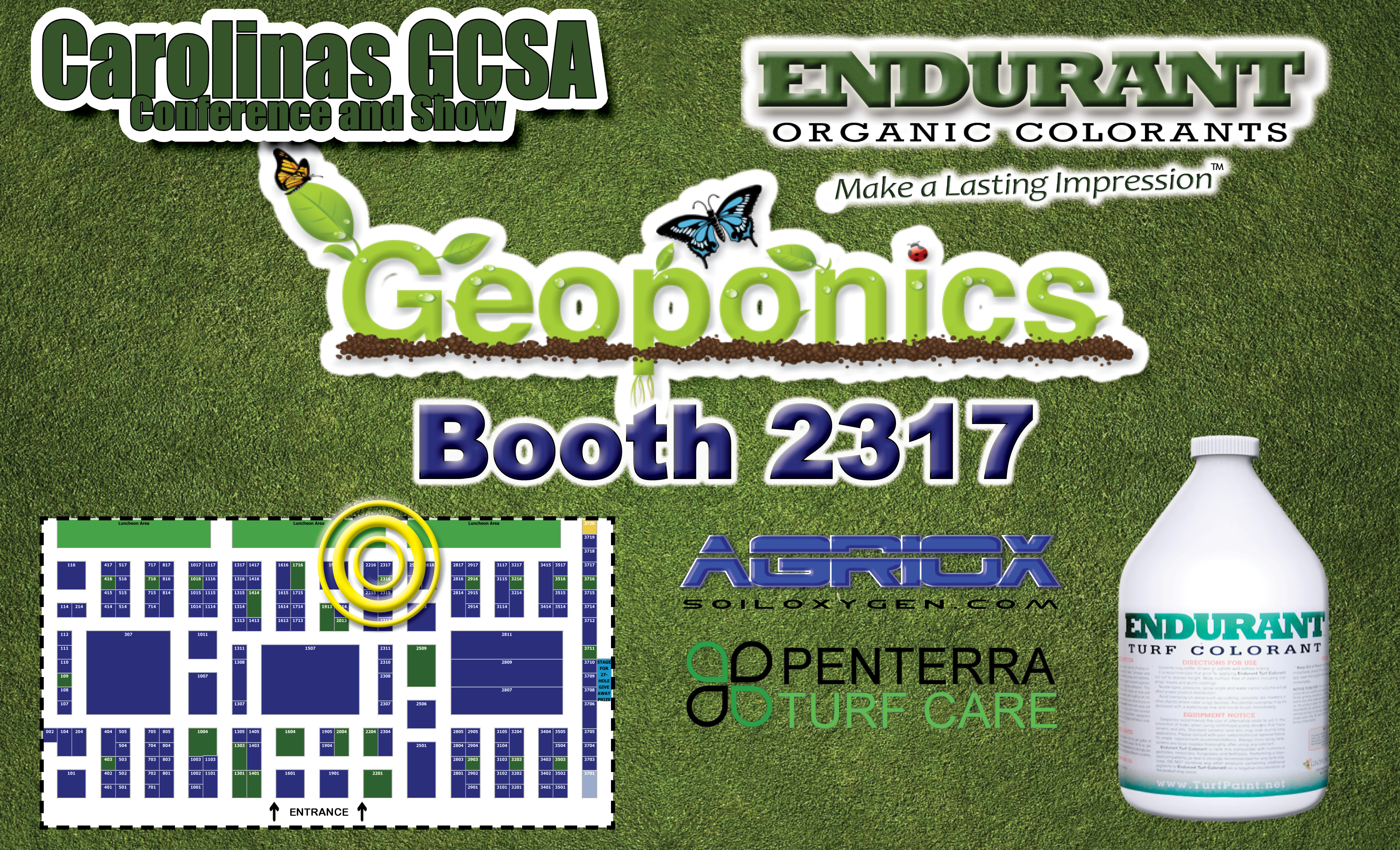 Geoponics at Carolina GCSA Conference & Show 2014