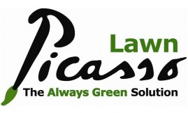 Lawn Picasso provides green lawns during California drought, saving water