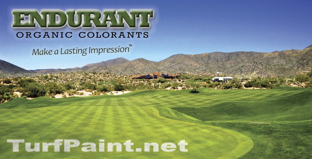 Endurant turf colorants How to paint turf for a lasting impression
