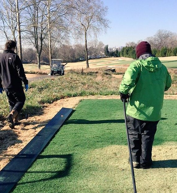 Golf Course Superintendent Jason Sanderson shares the process and benefits of using Endurant organic turf paint on warm season grasses.