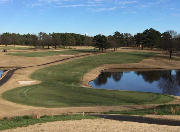 After photo: Greenkeeper brings green back to golf course