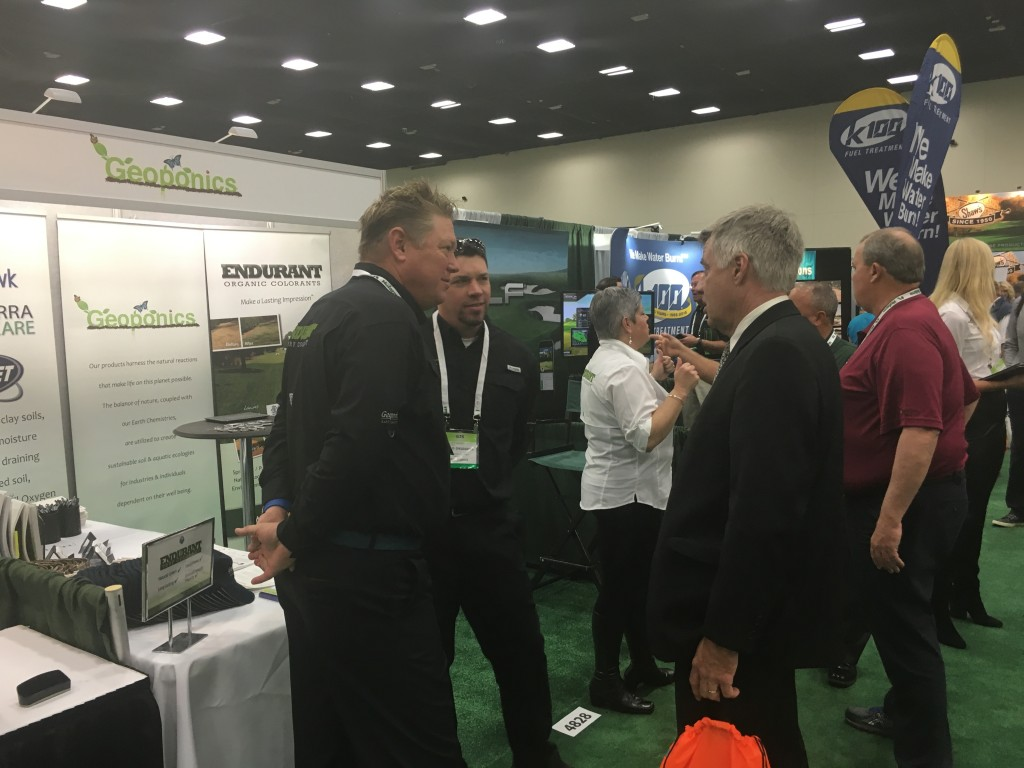 GIS 2015 agronomy, the environment and turf paint