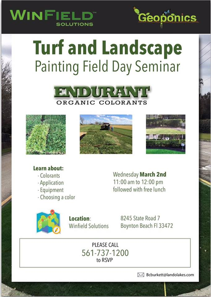 Turf Paint Field Day