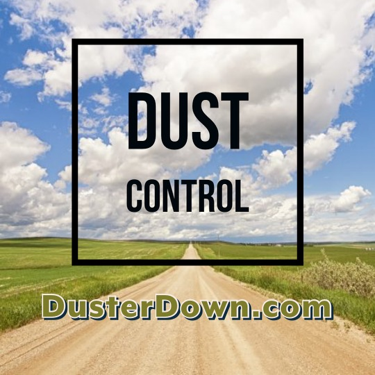 DusterDown for dust suppression and erosion control