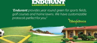 Endurant Turf Colorant Year Round Green Grass for Sports, Lawns and Golf
