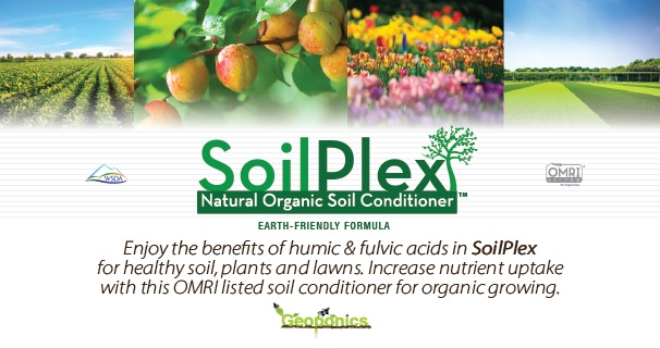 SoilPlex soil conditioner OMRI listed for organic growing provides benefits of humic and fulvic acids