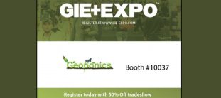 Visit Geoponics at Booth #10037 at GIE+EXPO in Louisville Kentucky this October for an educational networking event with Green Industry Leaders
